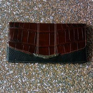 Brighton Leather Checkbook Holder